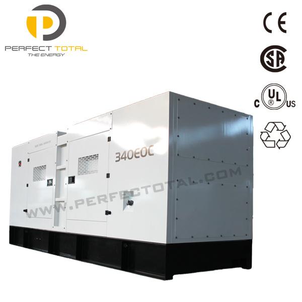 300kVA Silent Diesel Generator Set with Perkins Engine