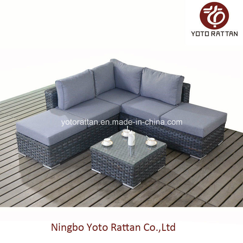 Grey Corner Sofa for Outdoor (1501)