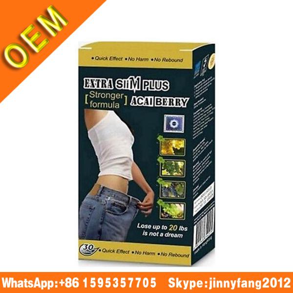 100% Pure Nature 1 Box Diet Pills! Extra Slim Plus Acai Berry