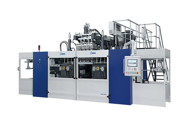 Blow Molding Machine B15D-640 (2 stations 16 caivities 16 + 16)