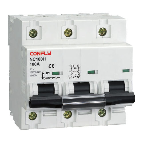 Nc100h Mini Circuit Breaker 10ka IEC 60947