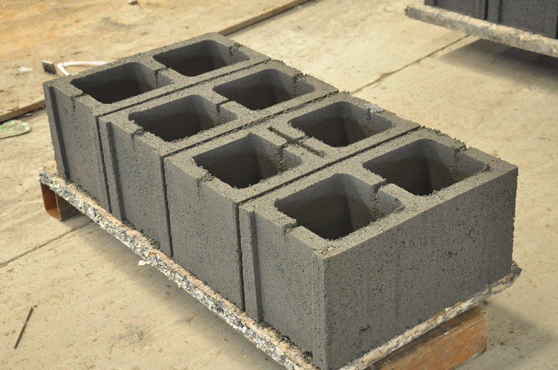 Manual Concrete Hollow Block Interlocking Brick Making Machine