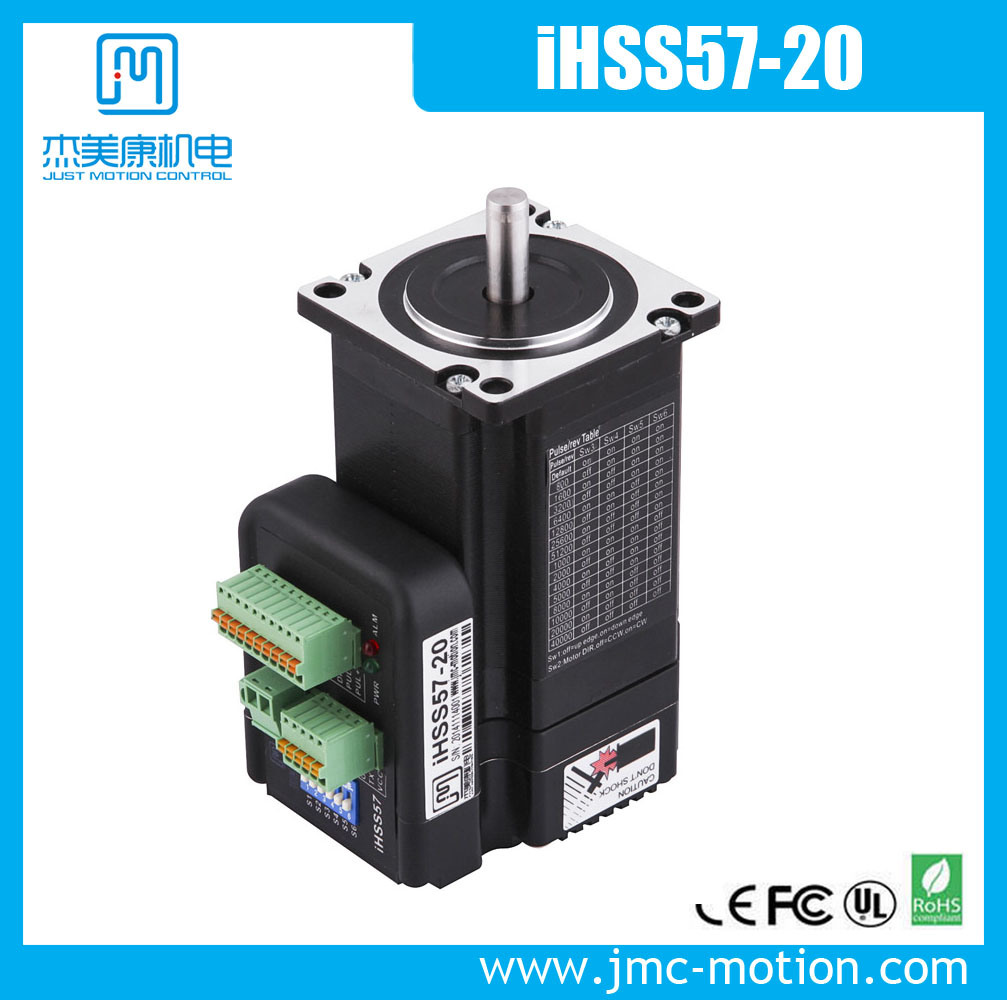 China compact size integrated stepper servo motor with for Servo motor and stepper motor