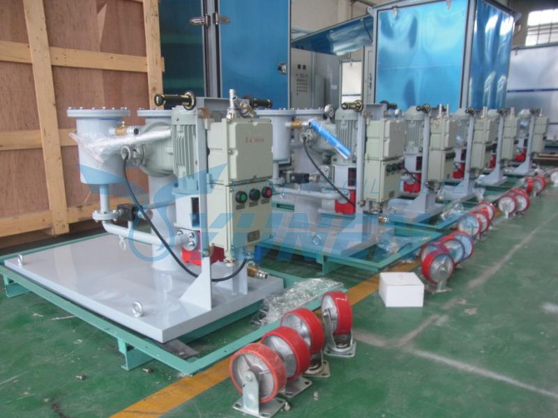 Remove Impurities Turbine Oil Purification Machine