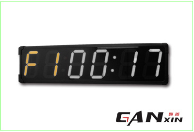 [Ganxin] Popular Design 8 Inch Programmable Digital LED Wall Clock