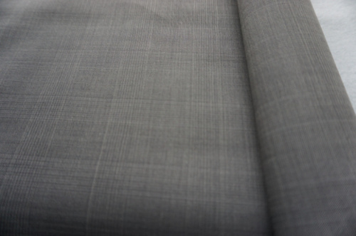 Plaid Plain Wool Fabric of 100% Wool