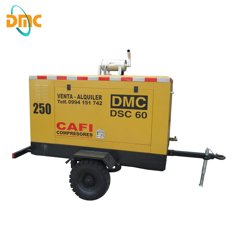 Diesel Driven Portable Air Compressor