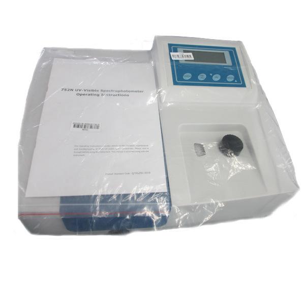 750n 200nm to 1000nm Low Price UV Vis Spectrophotometer
