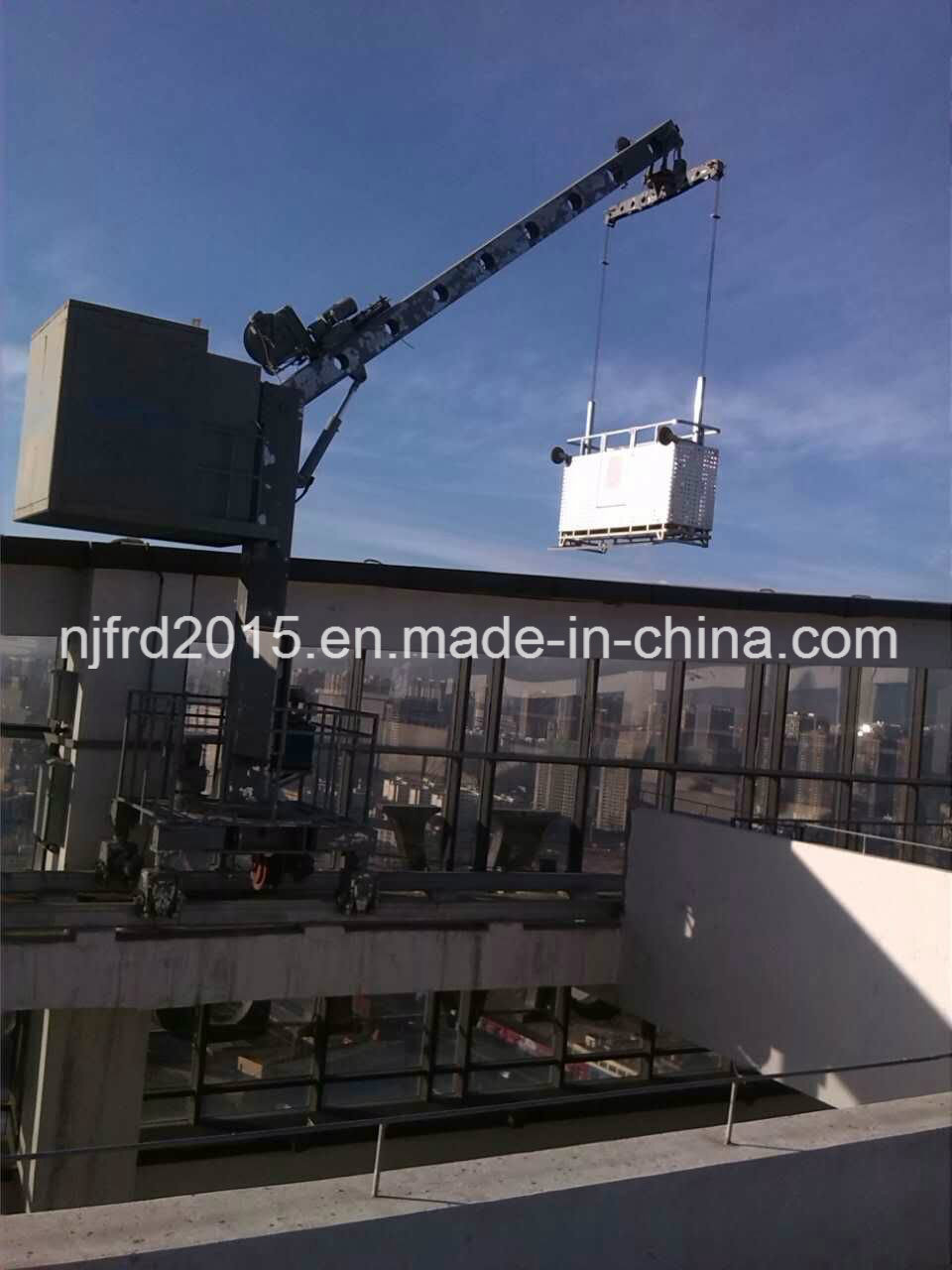 Fixed Jib Facade Addess Equipment Bmu