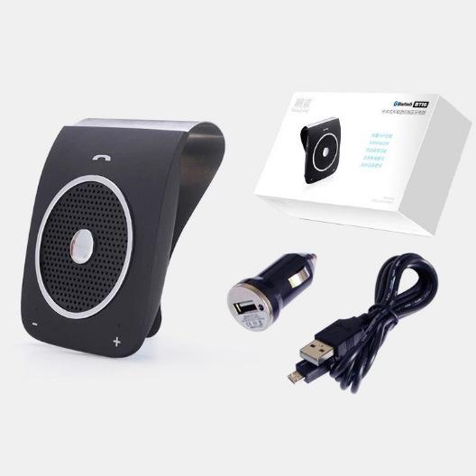 Sun Visor Clip Bluetooth Wireless Handsfree Car Kit Bt18