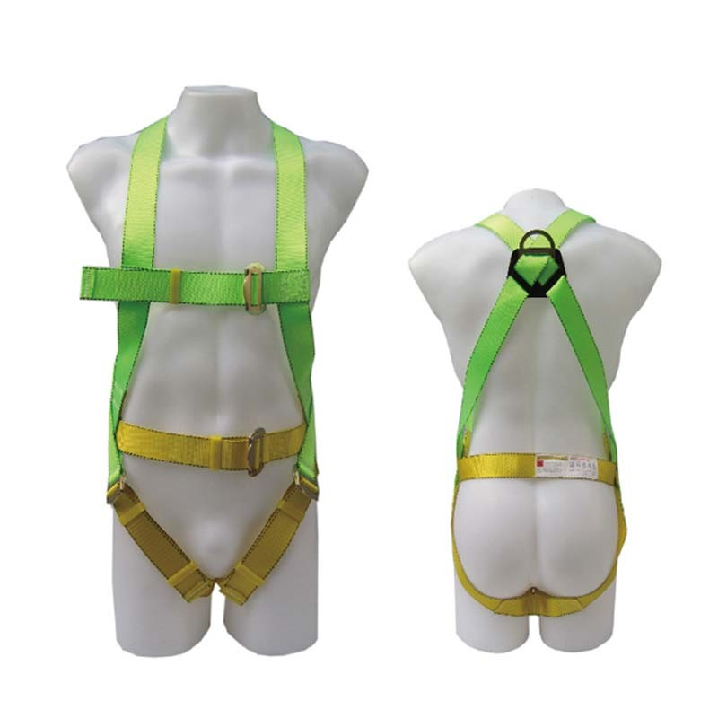 Good Quality Professional Polyester Working Full-Body Safety Harness Belt