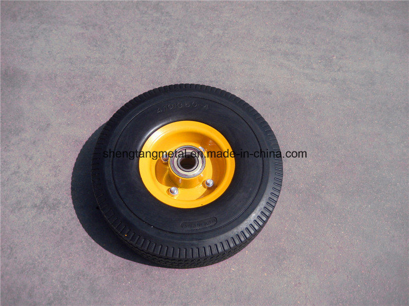 PU Foam Wheel 260X85 Tire and Rim