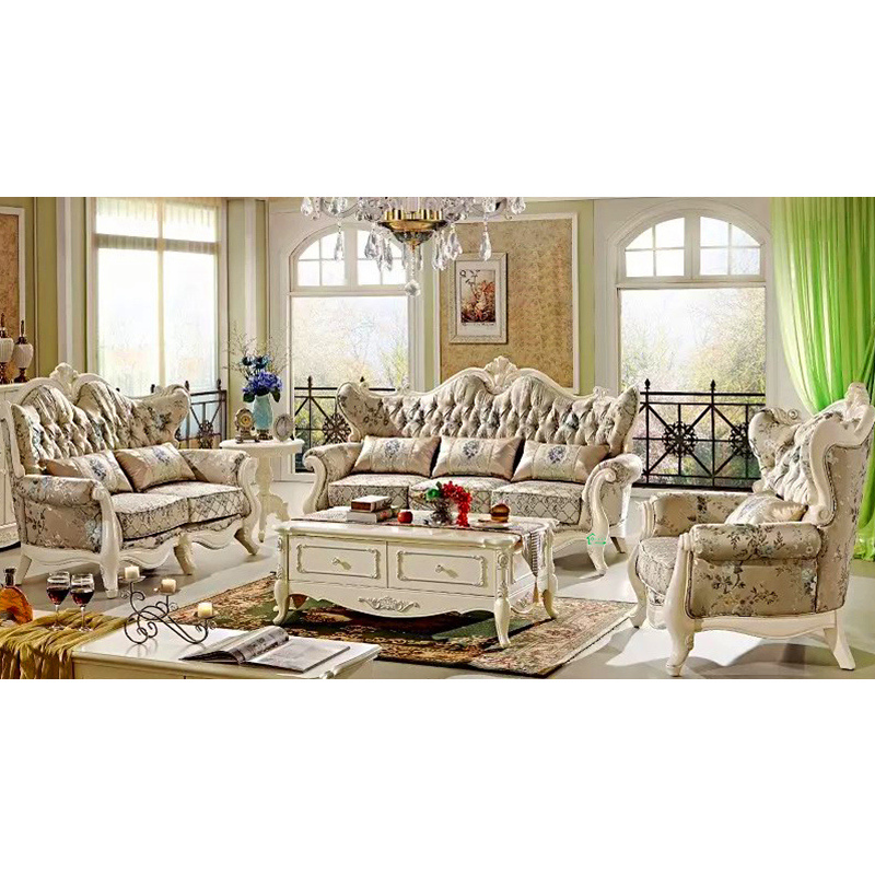 China Wood Fabric Sofa Set For Living Room Furniture 510A Photos Pict