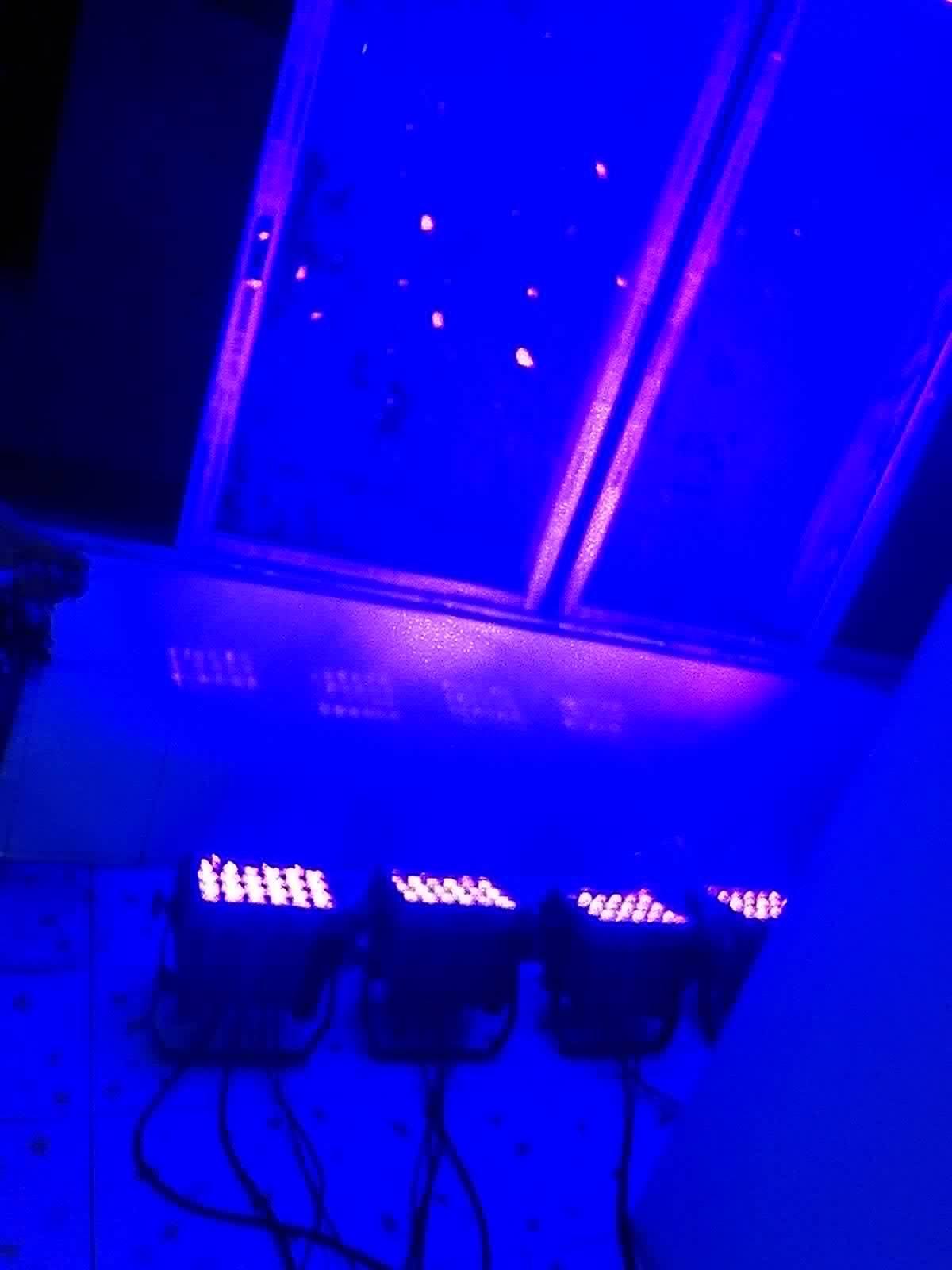 New 24PCS*10W RGBW 4in1 Waterproof LED PAR Light & Effect Light