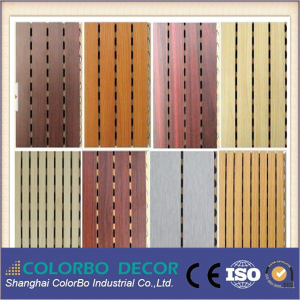 Conference Room Decoration Wood Timber Acoustic Panel