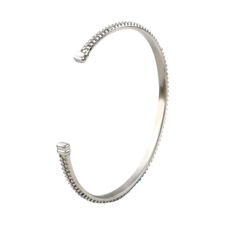 Custom Inspirational Jewelry Fashion Stainless Steel Open Cuff Bangle