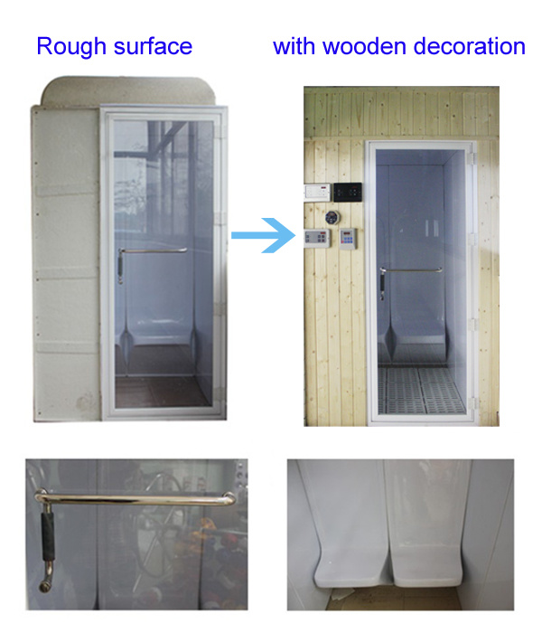 6 People Use Steam Room Wet Sauna for Sale
