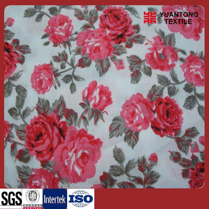 100% Rayon Printing Bed Sheet Fabric