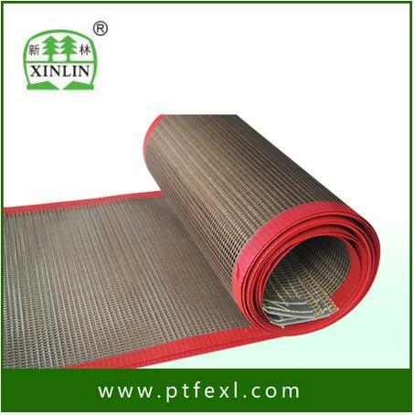 China Supplier High Temperature Resistance PTFE Coated Fiberglass Mesh Dryer Belt