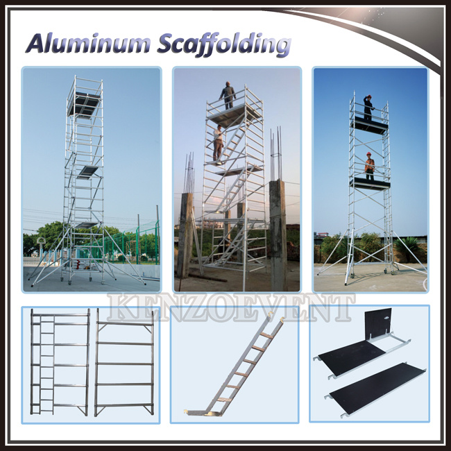 High-Performance Easy Assemble Used Aluminum Scaffold
