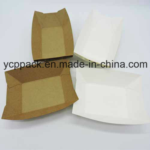 Disposable Food Packaging Fruit Tray Paper Tray