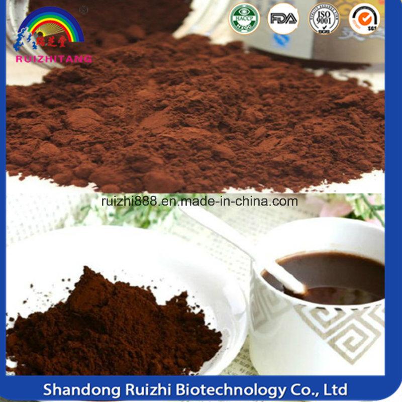 Ganoderma Lucidum (Reishi) Spore Powder Used in Coffee