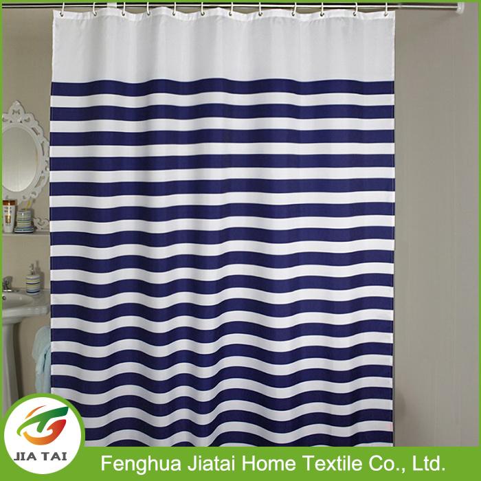 Shower Curtain Fabric Online Custom Striped Shower Curtain