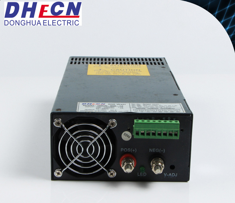 600W Single Output Switching Power Supply with Parallel Function (HSCN-600)