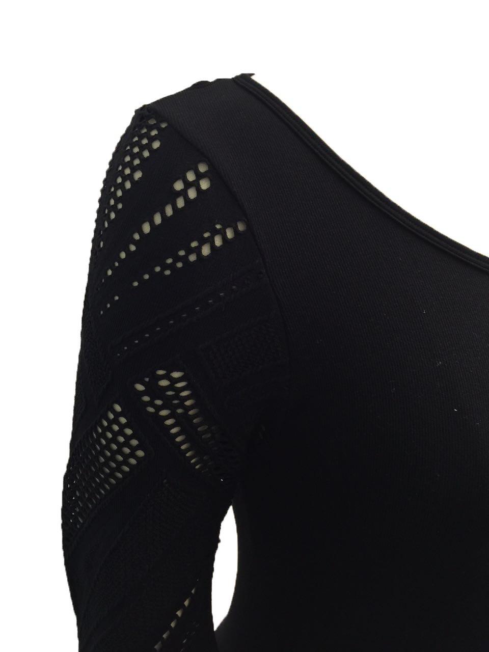 Women′s Long Holed Seamless Shirt
