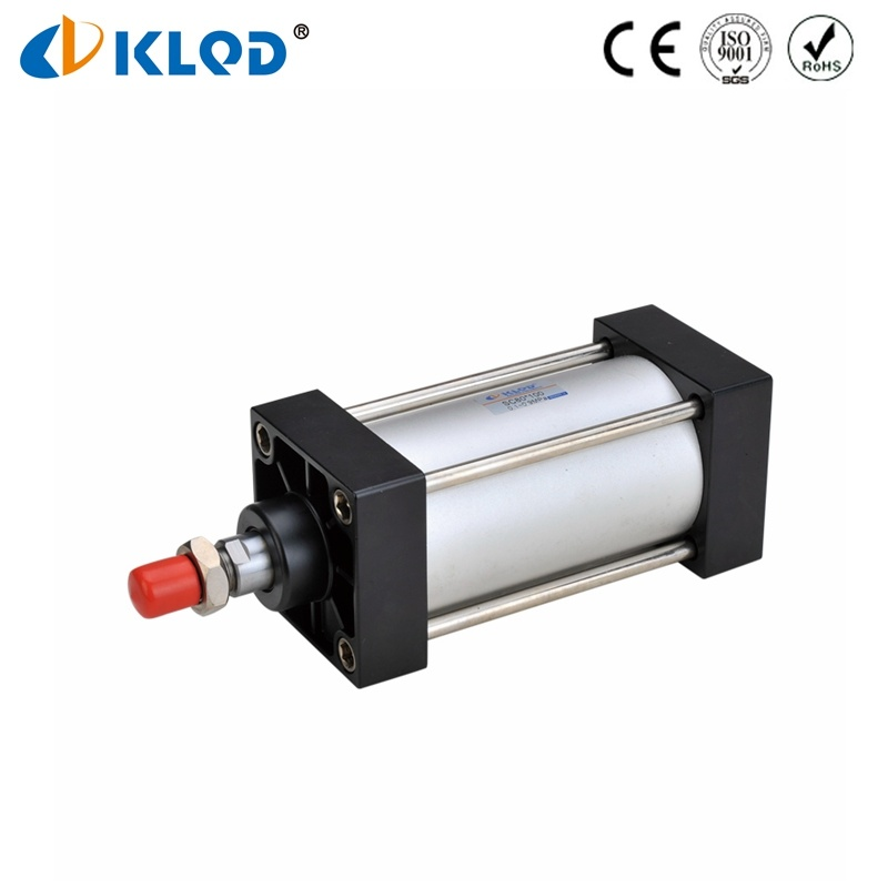 Standard Pneumatic Cylinders Stroke Adjustable Air Pneumatic Components