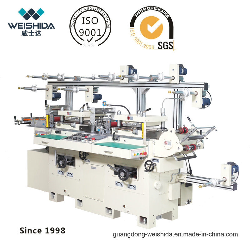 Intelligent Automatic Two Seater Die Cutting Machine of Wb300