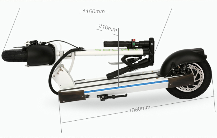 Lightest Foldable Urban Carbon Fiber Aluminum Electric Scooter