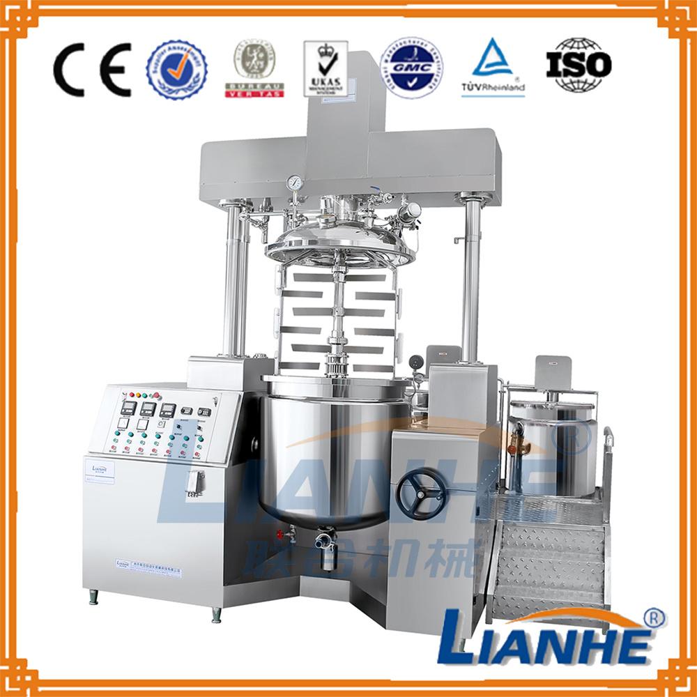 Guangzhou Lianhe Vacuum Mixer Emulsifying Mixing Machine for Cosmetic
