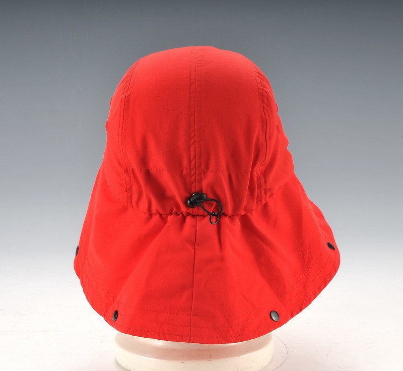 Upf50+ Fabric Kid Size Outdoor Cap with Button