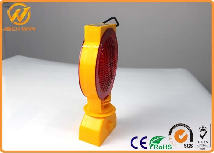 Rechargeable Battery Solar LED Warning Light Barricade Lamp