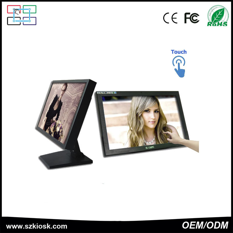 "17"" Ultra HD Touch Advertising All in One Kiosk"