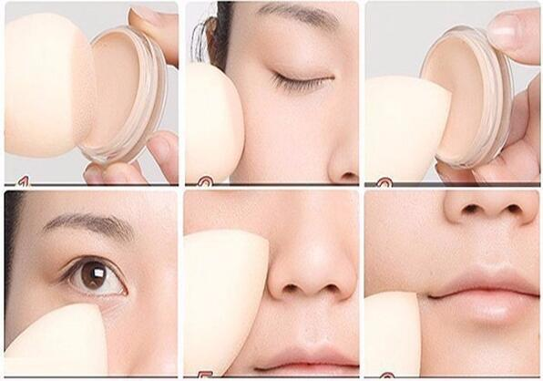 Soft Blender Sponges for Makeup, Foundation Puff