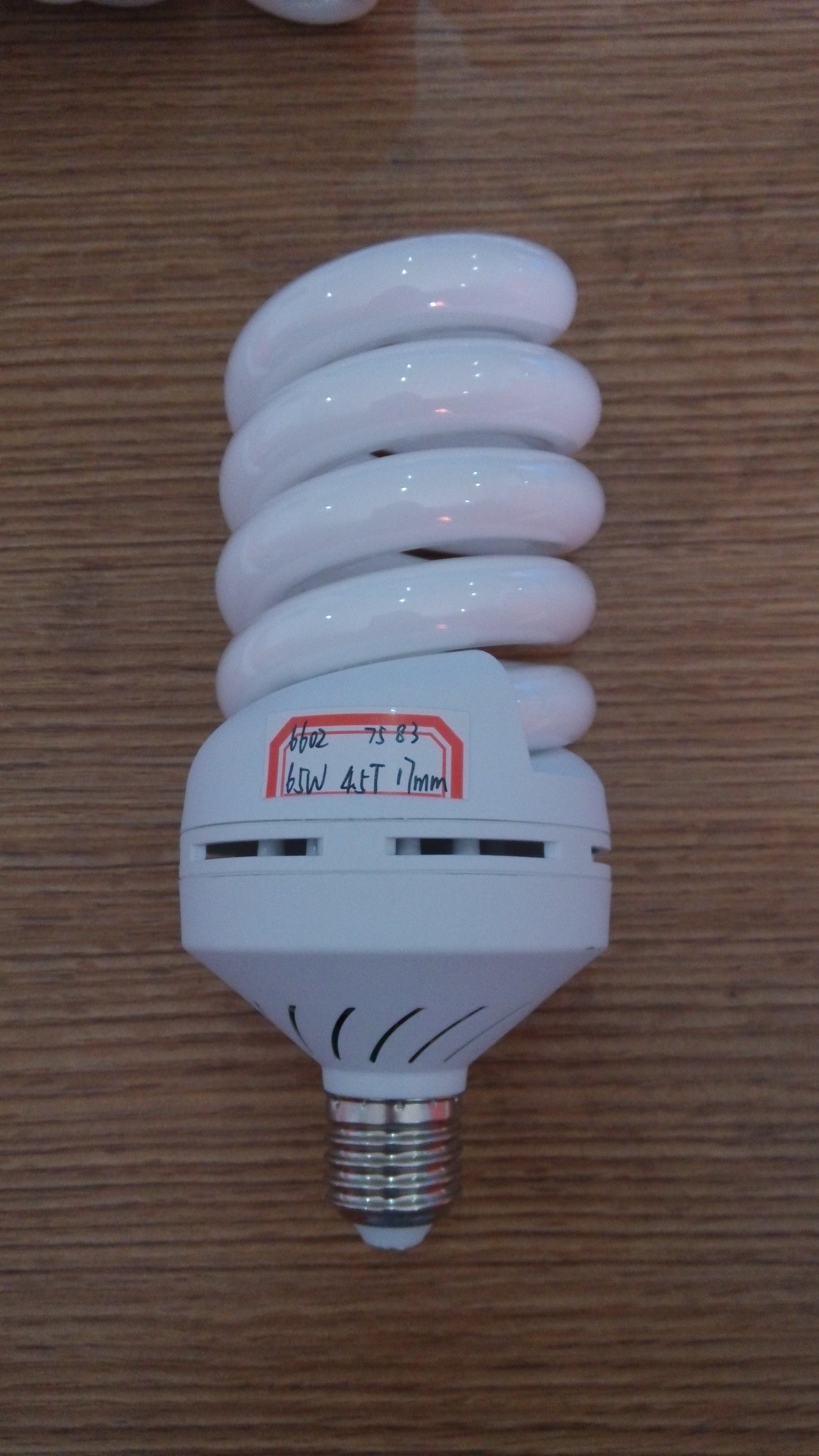 Energy Saving Lamp 65W 70W 75W 80W 85W Full Spiral Tri-Color E27/B22 220-240V