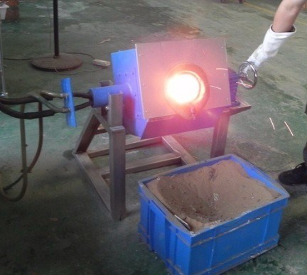 Induction Melting Metals Furnace -Melting Gold Furnace -Melting Silver Brass Copper Machine