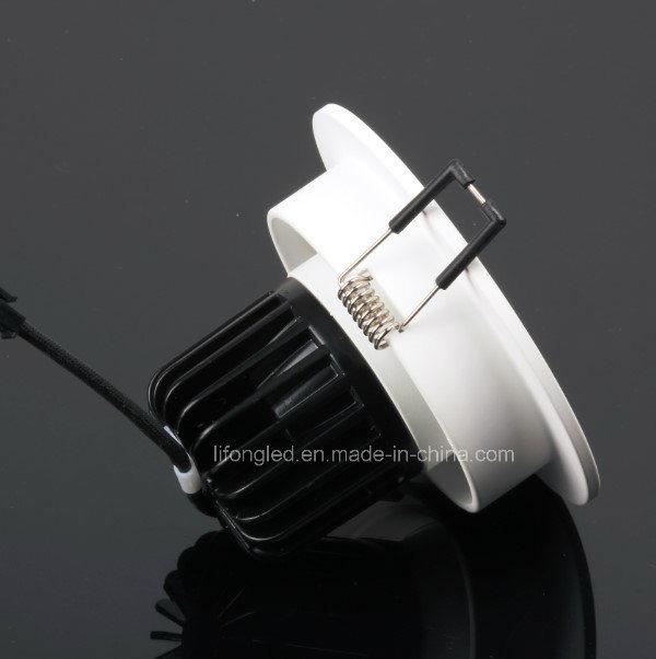 Aluminum Recessed Ceiling Spot Light 7W COB LED Down Light
