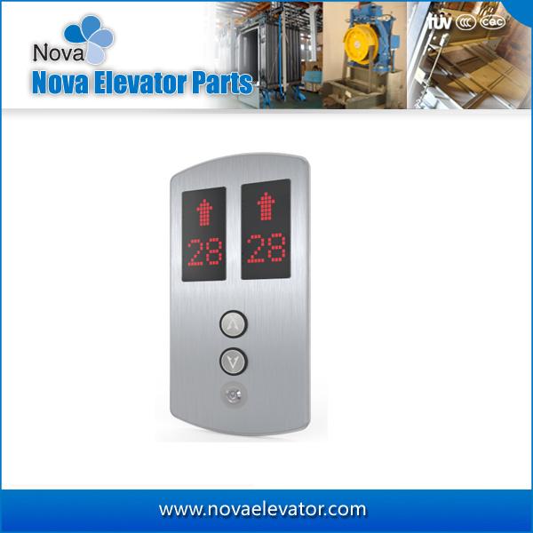 Duplex Elevator Cop Lop Hall Button Box Panel