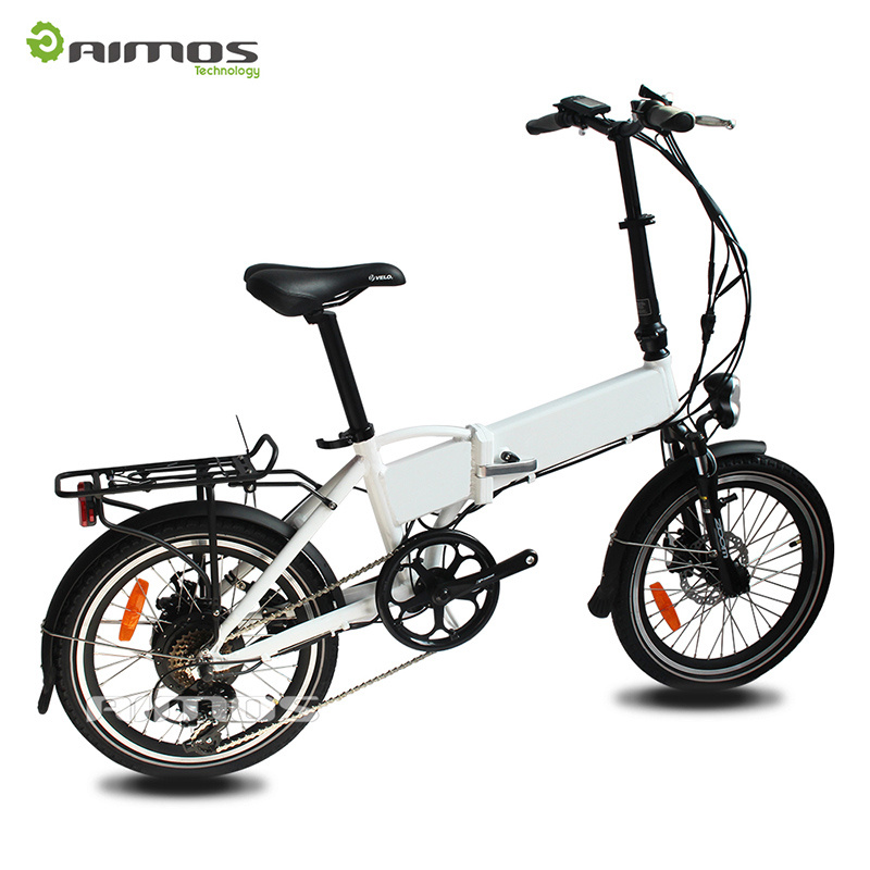 "Hidden Battery 20"" Folded Electric Bike"