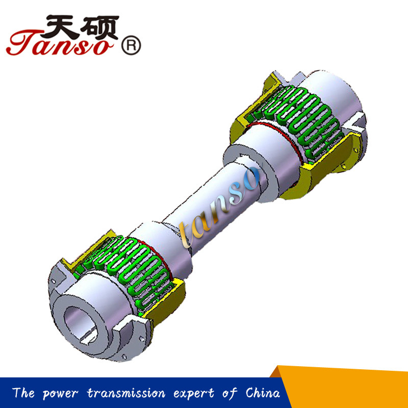 Tanso Brand Double-Piloted Design JSJ Spacer Grid Coupling