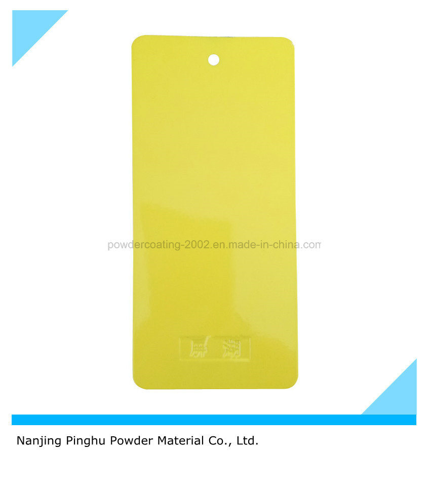Yellow Powder Paint with Good Mechanical Property