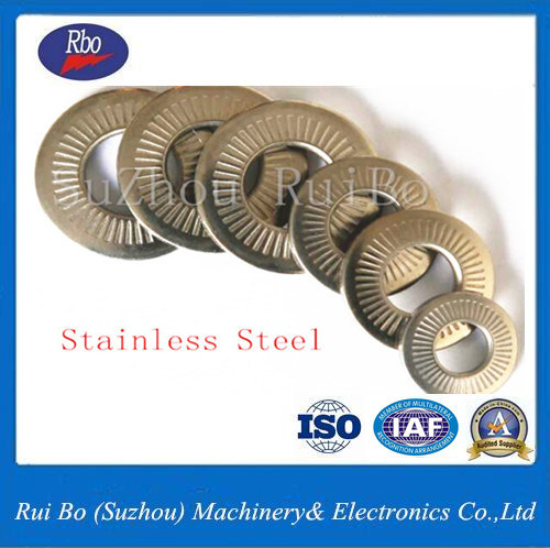 Stainless Steel Nfe25511 Single Side Tooth Steel Lock Spring Washer