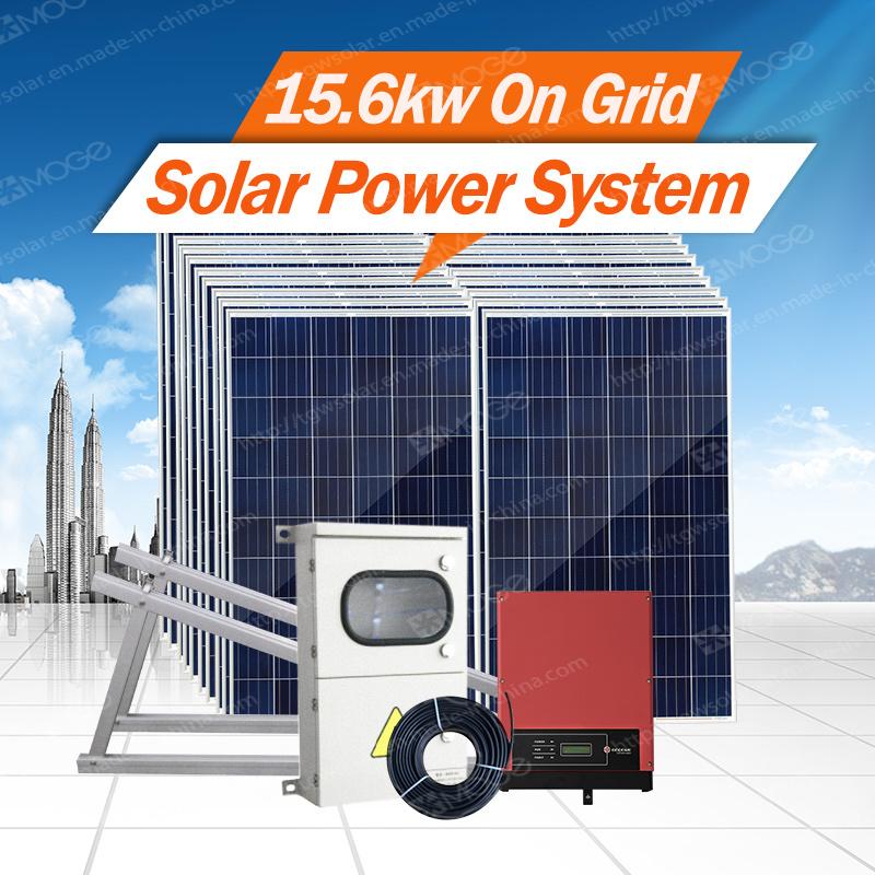 Morege on Grid 2kw-30kw Solar Power System for Home in Nairobi Kenya