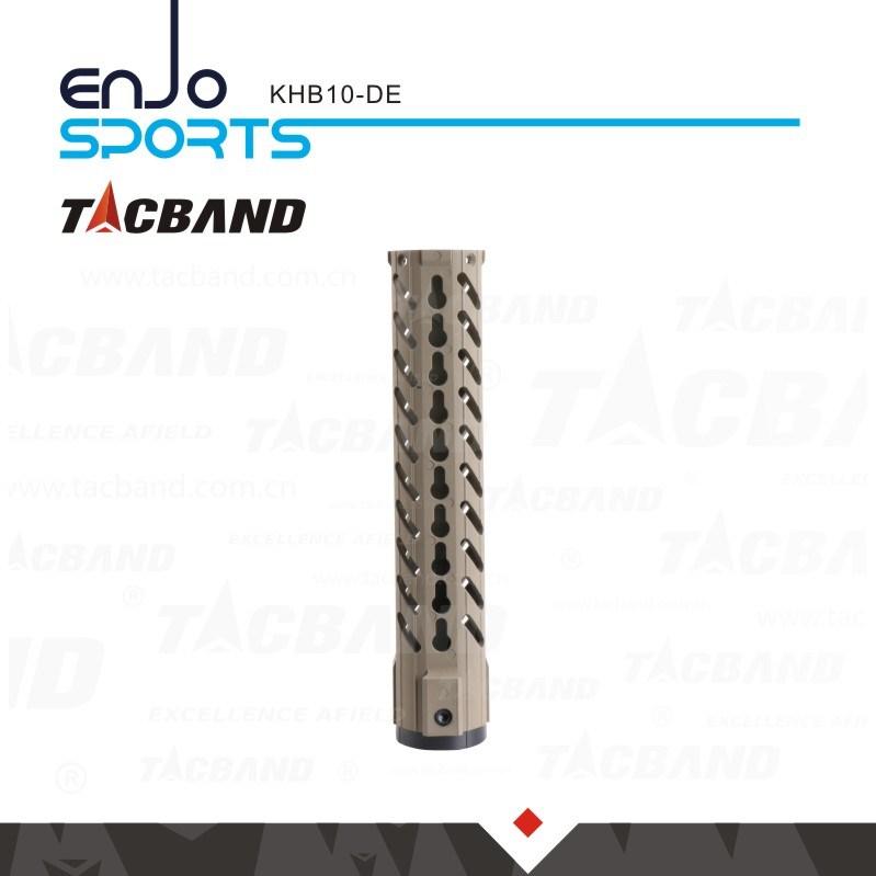 10 Inch Picatinny Rail Keymod Handguard Carbon Fiber Composite (CFC)