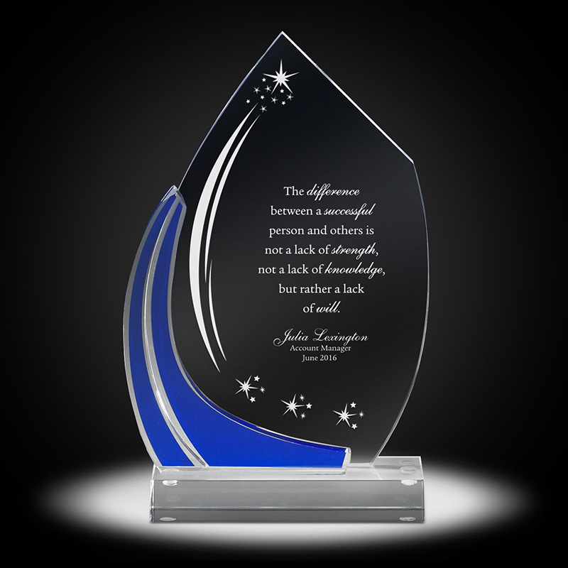 High Quality Acrylic Trophy for Sale