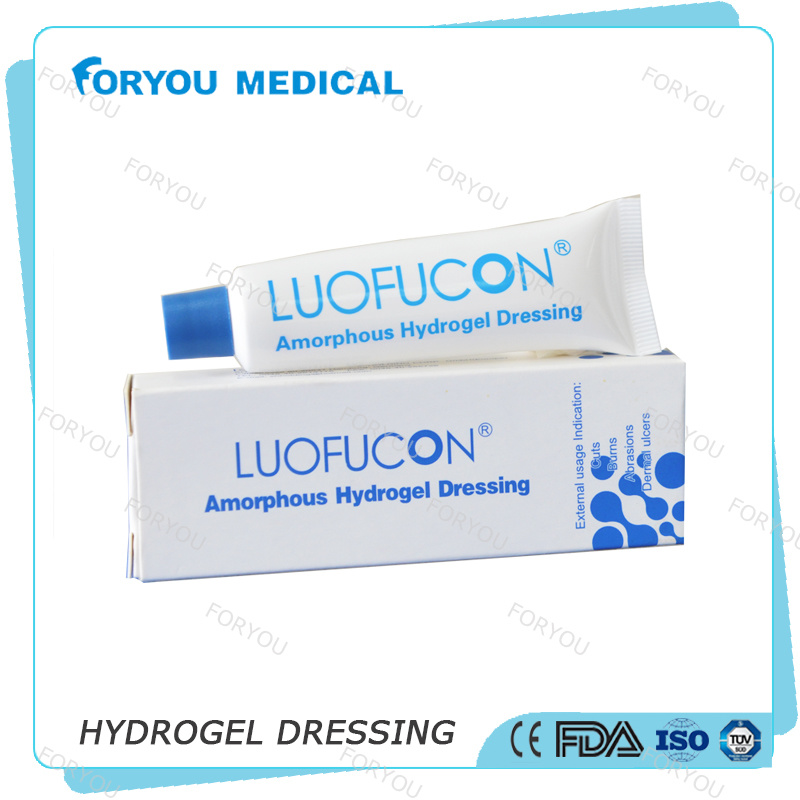 Moist Non-Adhesive Surface Sterile Hydrogel Burn Pads