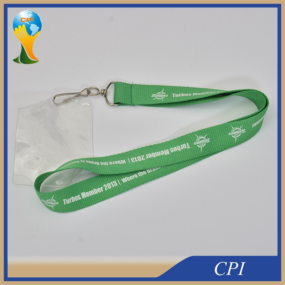 ID Card Holder Lanyard with Silk Screen Printing Logo